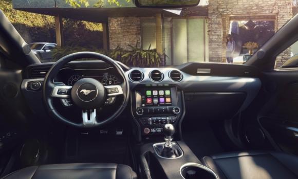 Inside of ford