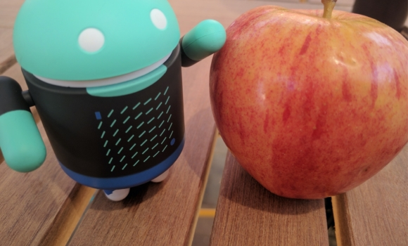 android app robot with an apple, App Quality