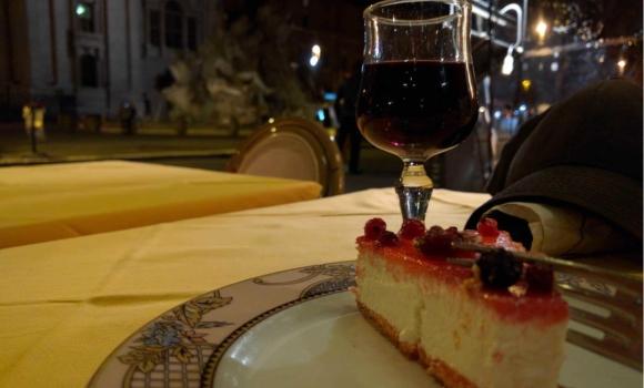 cheesecake in piazza navona rome