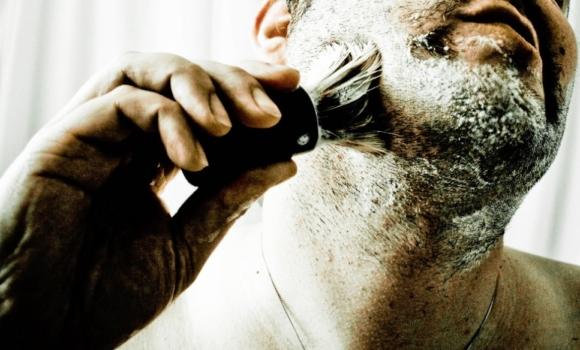 Person shaving
