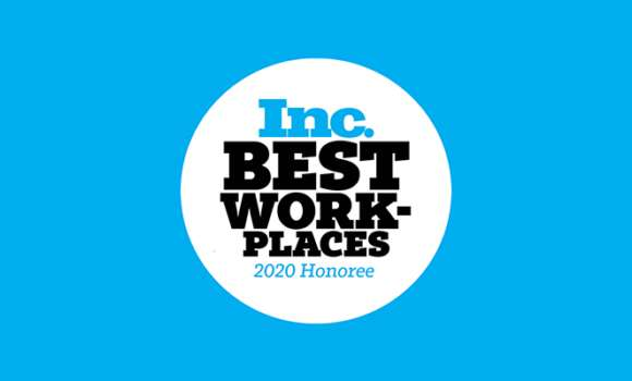 Inc. Magazine Best Places to Work in 2020