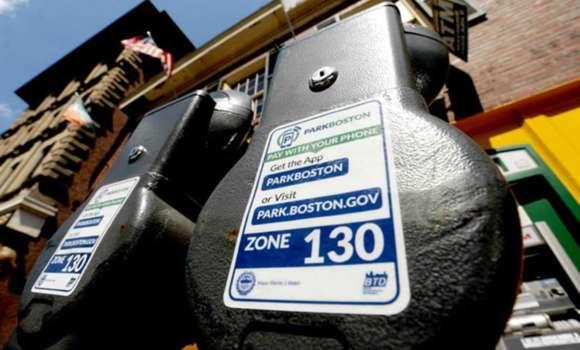 Parking meter in Boston