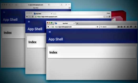 App Shell Index