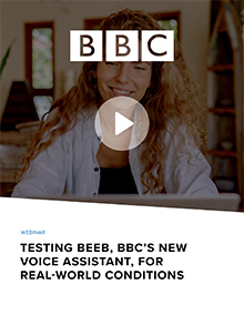 Testing for bbc voice assistant beeb