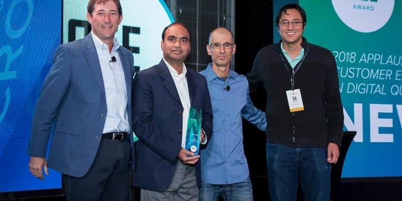 News Corp receiving ACE award at DigitalXChange