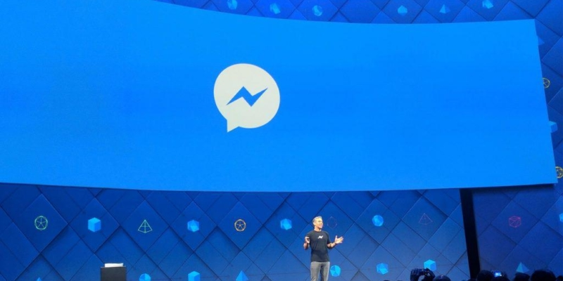 Facebook David Marcus Messenger Logo