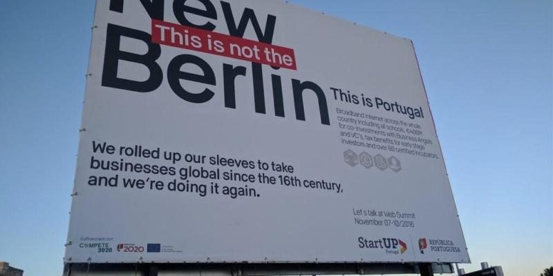 Lisbon Not Berlin