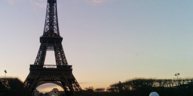 Paris Eiffel Tower Cropped