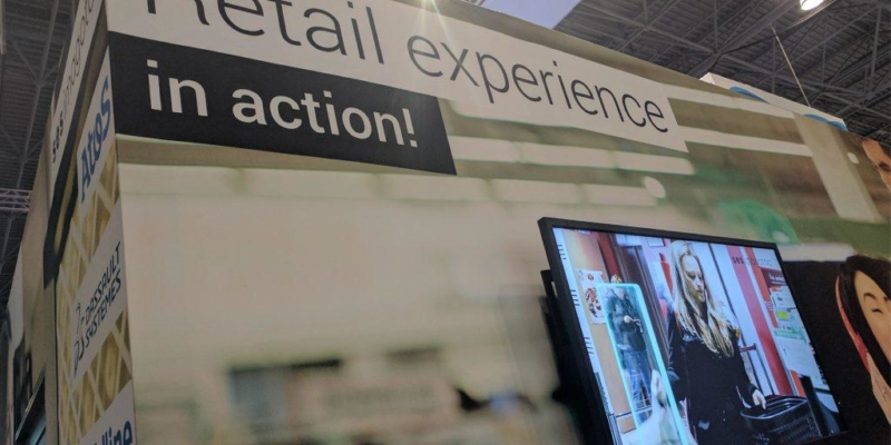 Retail Experience booth