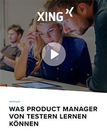 Was Product Manager von Testern lernen können