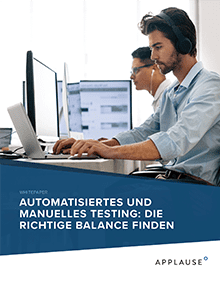 Automation and Manual Testing: Striking the Right Balance