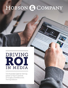 Hobson Driving Roi Media Resource Whitepaper