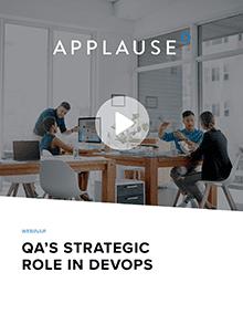 QA's Strategic Role In Devops