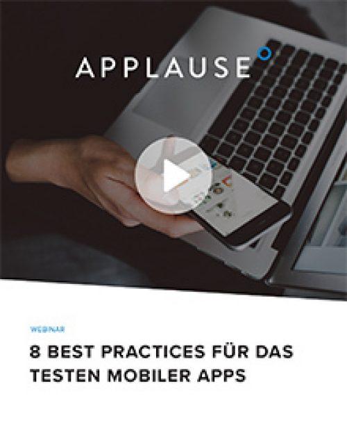 8 best preactices fur das testen mobiler apps