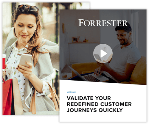 Validate your redefined customer journeys quickly collage image