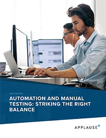 Automation Manual Testing Resource Whitepaper