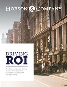 Hobson Driving Roi Resource Whitepaper