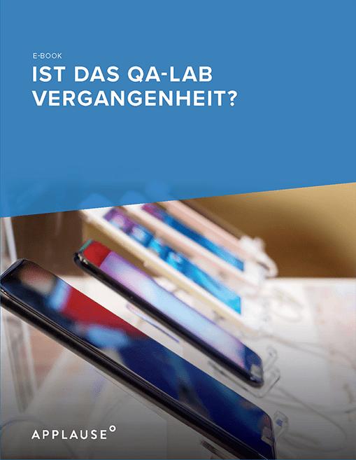 Ist Das Qa Lab Vergangenheit Resource Image