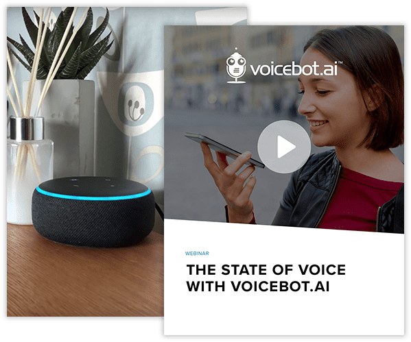 The state of voice with voicebot collage image
