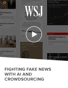 Fighting Fake News with AI and Crowdsourcing