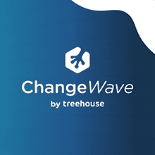 Change wave logo