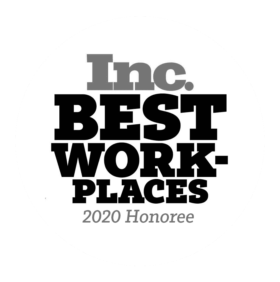 Inc best places to work 2020 Logo